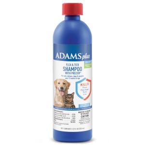 Adams Plus Flea & Tick Shampoo with Precor 12ea/12 fl oz