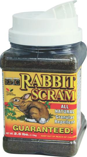 Enviro Rabbit Scram Granular Repellent Canister 12ea/2.5 lb