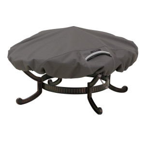 Classic Accessories Ravenna Fire Pit Cover Taupe 2ea/Large