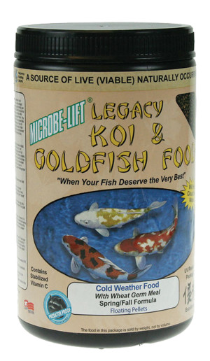 Microbe-Lift Legacy Koi & Goldfish Cold Weather Food 12ea/2.5 oz