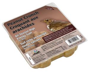 Heath Outdoor Products Peanut Crunch Suet Cake 12ea/11 oz