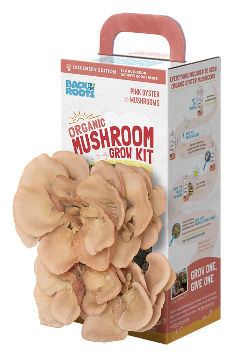 Back to the Roots Organic Mushroom Grow Kit Pink 1ea