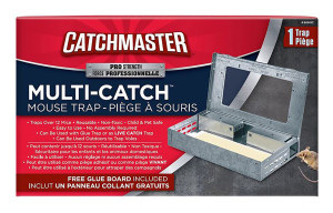 Catchmaster Multi-Catch Mouse Trap Pro Series with Glue Board Metal 6ea/Single pk