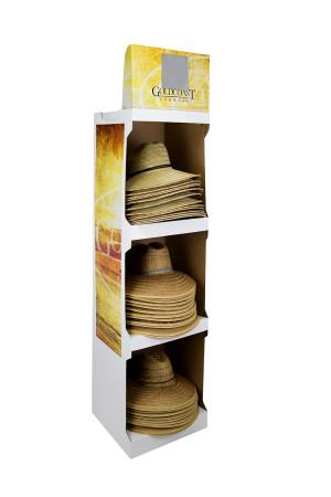 Goldcoast Sunwear Lifeguard Wide Brim Hat Corrugate Assorted Display Assorted 1ea/One Size