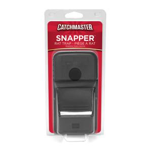 Catchmaster Snapper Rat Trap Plastic Black 8ea/Single pk