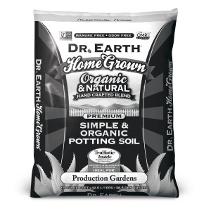 Dr. Earth Home Grown Premium Vegetable & Garden Planting Mix 60ea/1.5Cuft Black