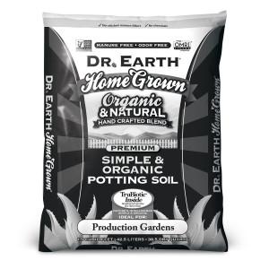 Dr. Earth Home Grown Premium Vegetable & Garden Planting Mix 1ea/1.5Cuft Black