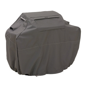 Classic Accessories Ravenna BBQ Grill Cover Taupe 2ea/Medium