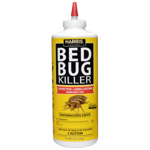 Harris Bed Bug Killer Powder 12ea/8 oz
