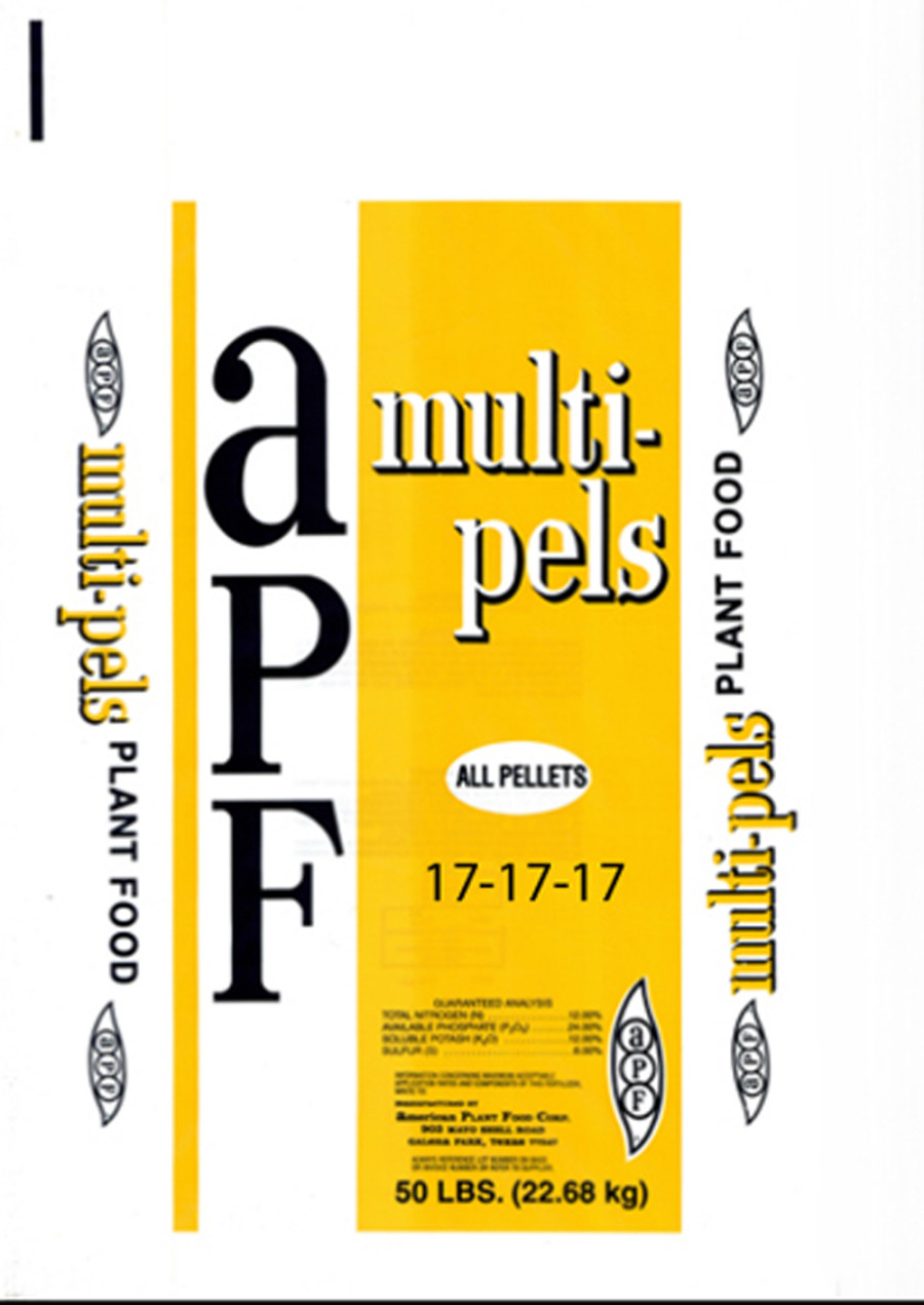 American Plant Food Multi-Purpose Lawn & Garden Fertilizer 17-17-17 1ea/50 lb