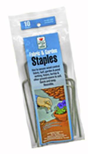 Easy Gardener Fabric & Garden Staples Weed Control & Netting Steel Steel Silver 8ea/75 pk