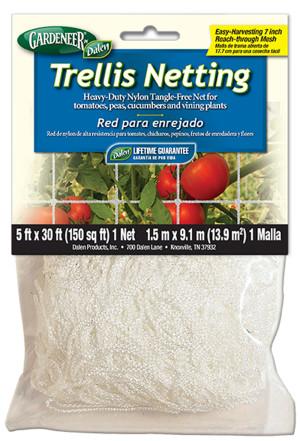 Dalen Gardeneer Trellis Netting White 12ea/5Ftx30 ft