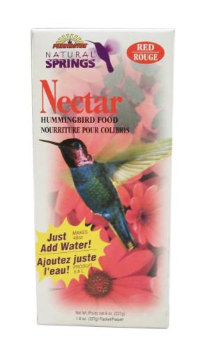 Pennington Natural Springs Nectar Hummingbird Food Powder Red PDQ 18ea/8 oz