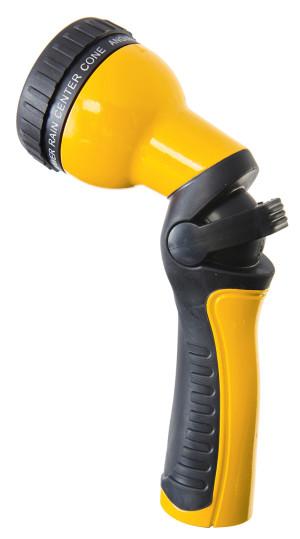 Dramm One Touch™ Revolution 9-Pattern Spray Gun Carded Yellow 6ea