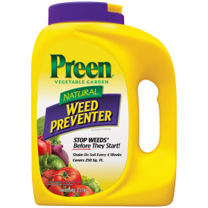 Preen Natural Vegetable Garden Weed Preventer 4ea/5 lb