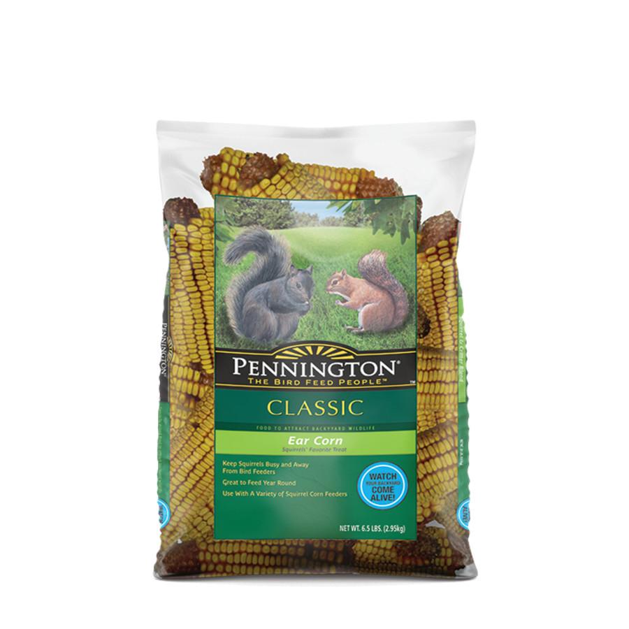 Pennington Classic Ear Corn Squirrel Food 4ea/6.5 lb