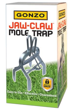 Gonzo Jaw-Claw Mole Trap Steel Silver 6ea/8 In X 4.5 In X 4 in