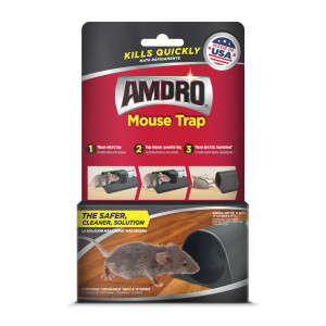 Amdro Mouse Trap 6ea/1 Trap With 12 Rings