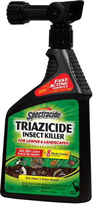 Spectracide Triazicide Insect Killer Lawns & Landscapes Ready To Spray