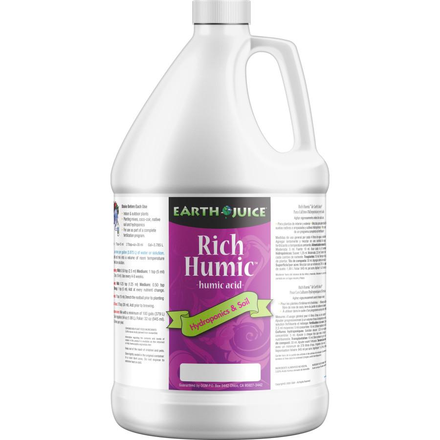 Earth Juice Rich Humic Acid 4ea/1 gal