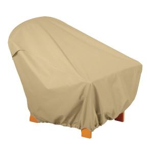 Classic Accessories Terrazzo Cover Adirondack Chair Sand 1ea/31.5 in