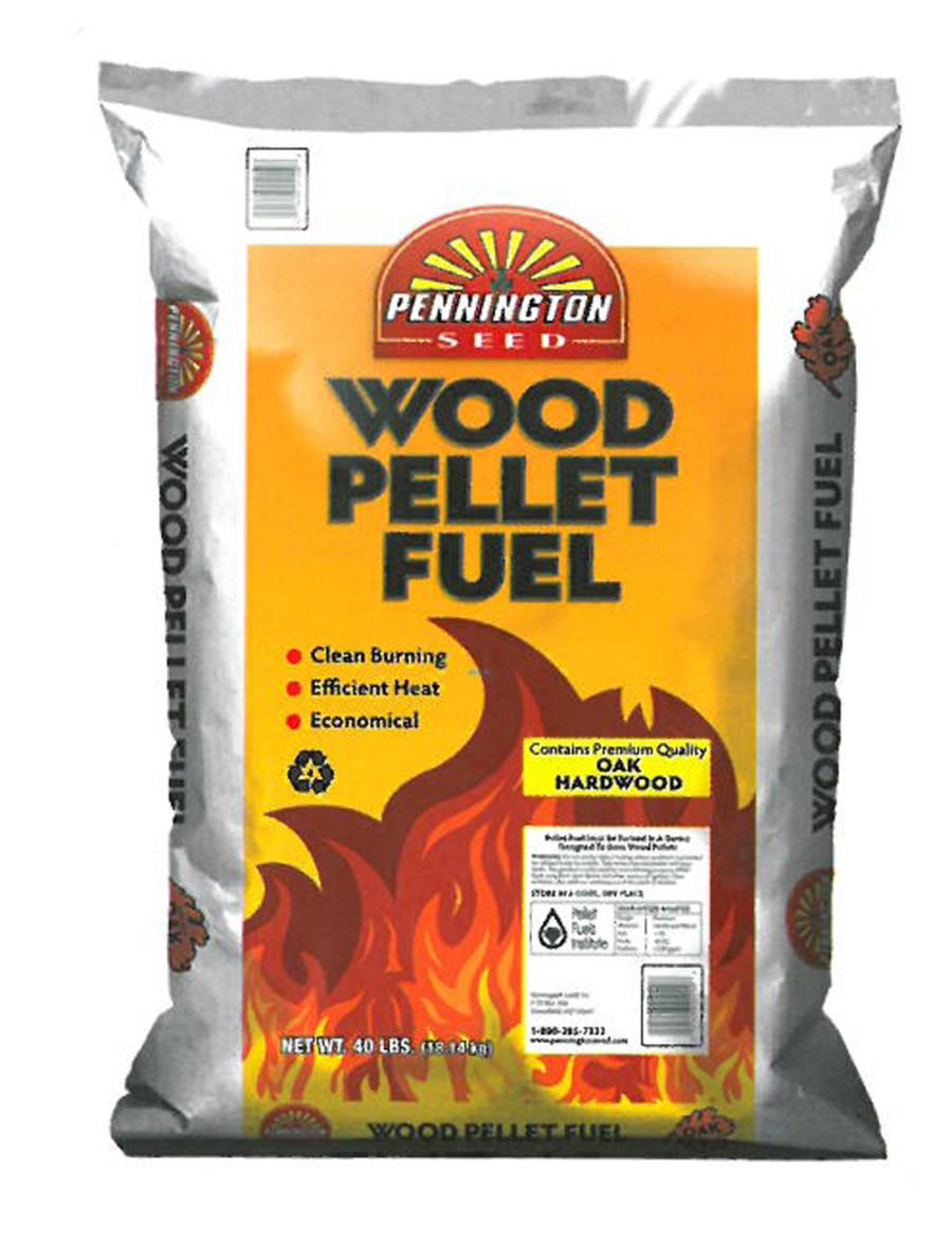 Pennington Wood Pellet Fuel 1ea/40 lb