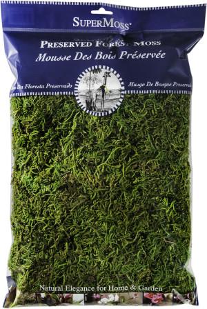 Supermoss Forest Moss Preserved Fresh Green 10ea/8 oz