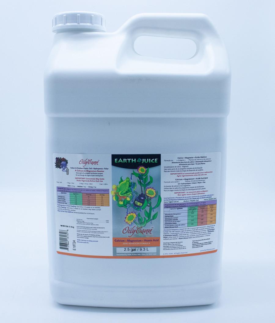 Earth Juice OilyCann Calcium, Magnesium & Humic Acid Supplement 2ea/2.5 gal