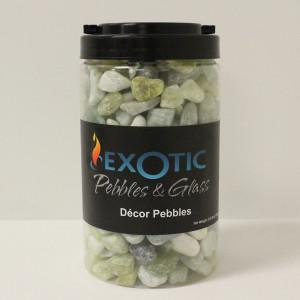 Exotic Pebbles Gravel Jar Jade 6ea/5 lb