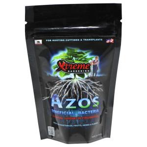Xtreme Gardening Azos Beneficial Bacteria Natural Growth Promotor 12ea/2 oz