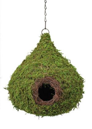 Supermoss Raindrop Woven Birdhouse Fresh Green 6ea/10Inx13 in