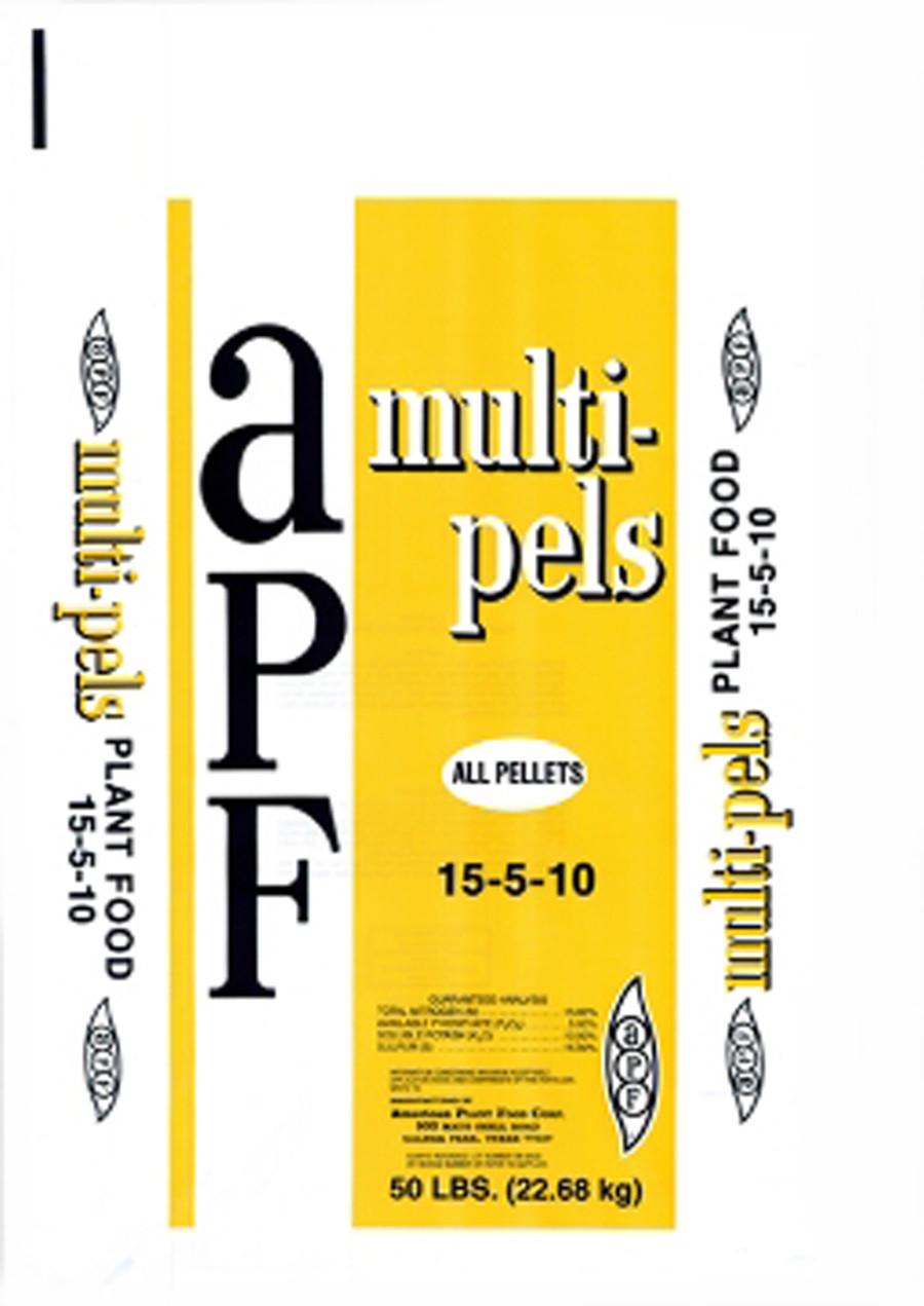 American Plant Food Multi-Purpose Lawn & Garden Fertilizer 15-5-10 2ea/50 lb