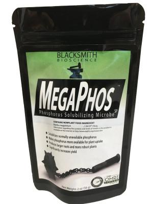 Blacksmith Bioscience MegaPhos Phosphorus Solubilizing Microbe 12ea/2 oz