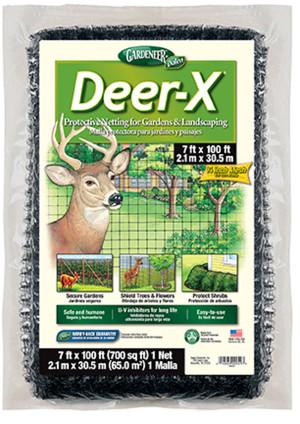 Dalen Gardeneer Deer-X Protective Netting Black 6ea/7Ftx100 ft