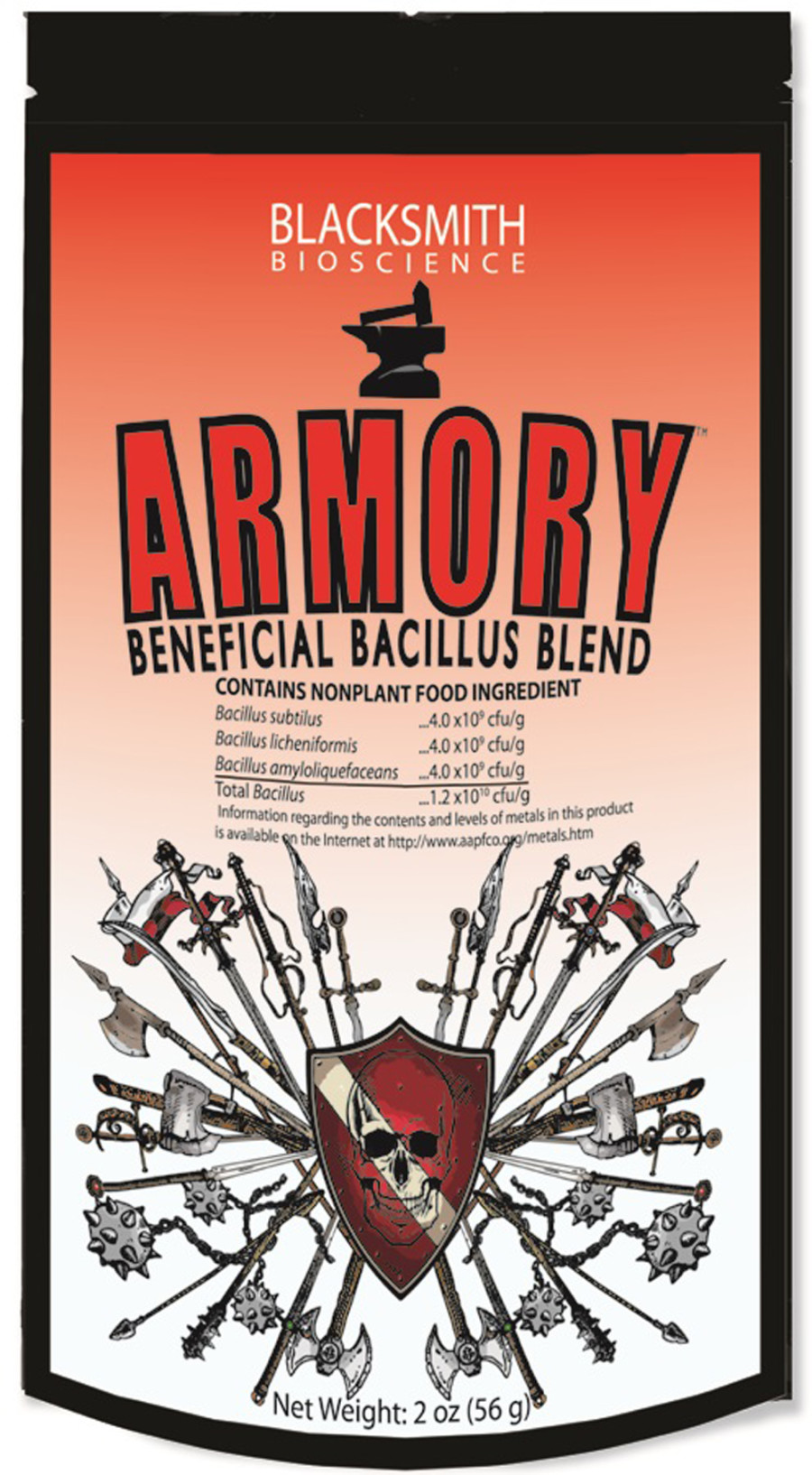 Blacksmith Bioscience Armory Beneficial Bacillus Blend 12ea/2 oz