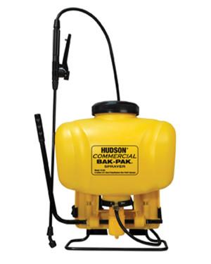 Hudson Commercial Bak-Pak® Sprayer Yellow 1ea/4 gal