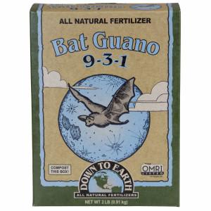 Down To Earth Bat Guano Natural Fertilizer 9-3-1 6ea/2 lb