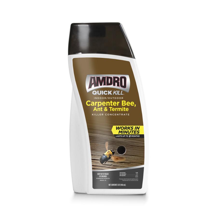 Amdro Quick Kill Carpenter Bee, Ant & Termite Killer Concentrate 6ea/32 oz