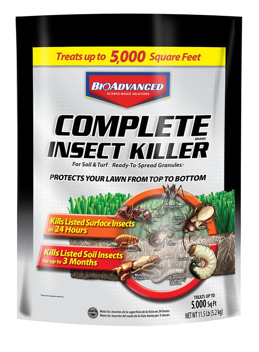 BioAdvanced Complete Insect Killer for Soil & Turf Granules 1ea/11.5 lb