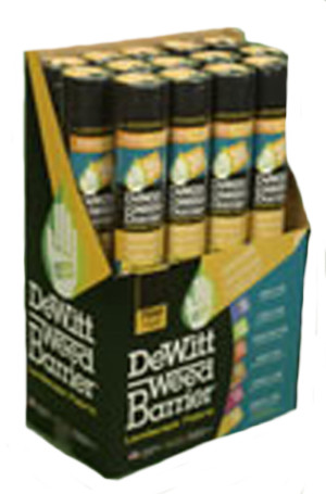 DeWitt 3-Year Weed-Barrier Landscape Fabric Black 36ea/3Ftx50 ft