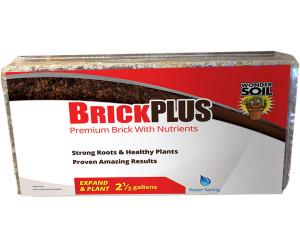 Hydrofarm Wonder Soil Expand & Plant Brick Plus 25ea/1.5 lb