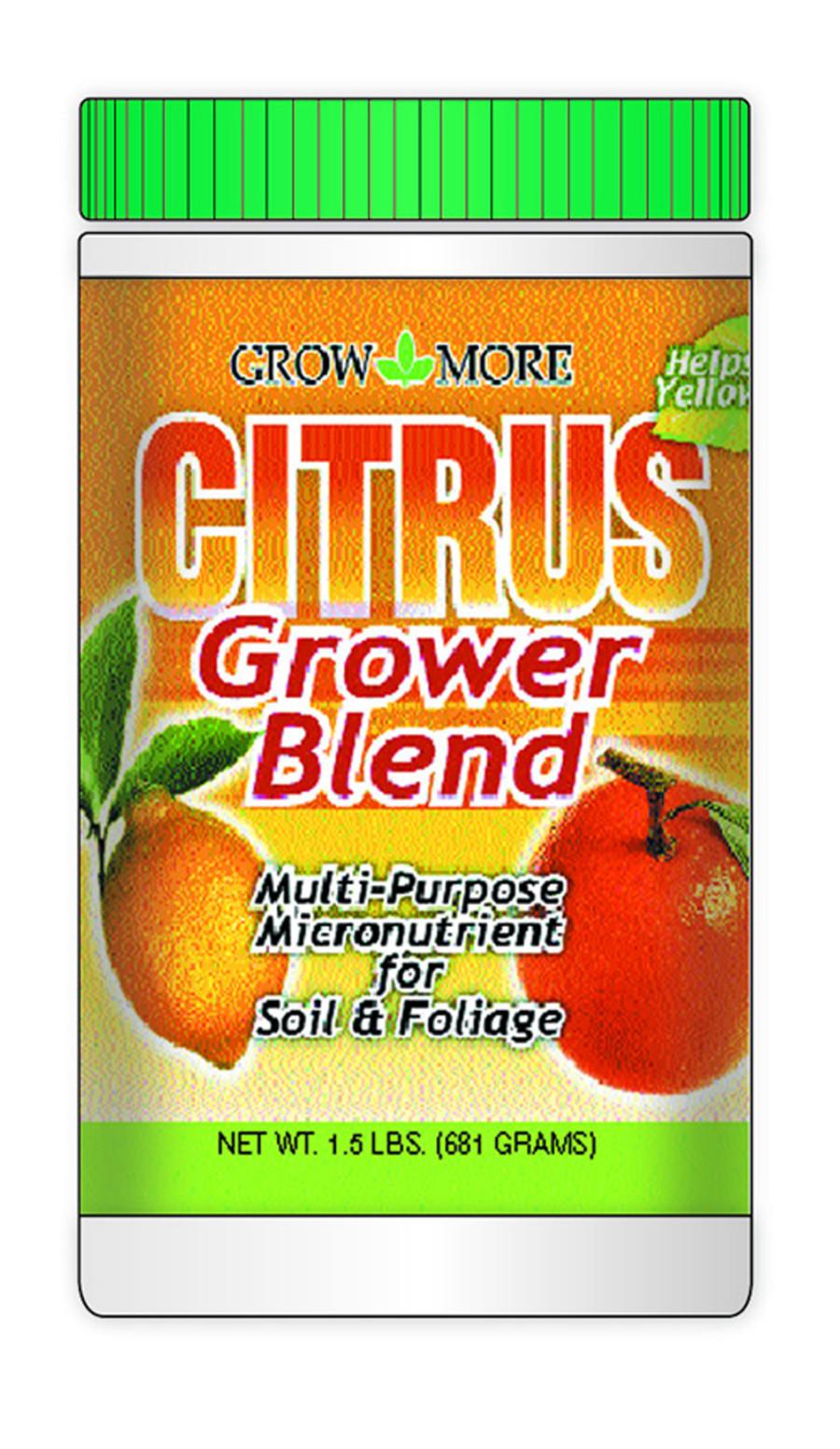 Grow More Citrus Grower Blend Fertilizer 1.7-0-0