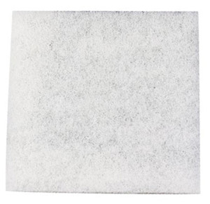 Danner Pondmaster Replacement Pads Filter Media Coarse Poly White 6ea/12 In. X 12 in