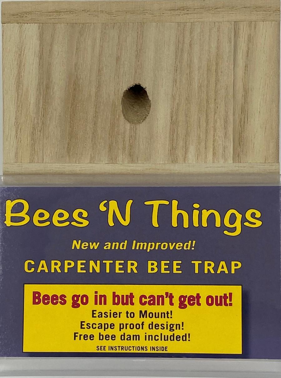 Bees N Things Hanging Carpenter Bee Trap II 6ea