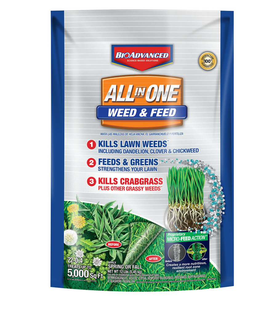 BioAdvanced All In One Weed & Feed Microfeed 1ea/12 lb
