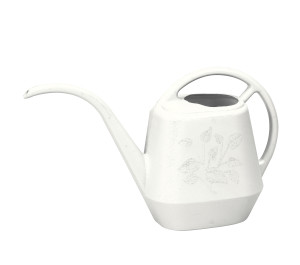 Bloem Aqua Rite Watering Can Casper White 6ea/144 oz