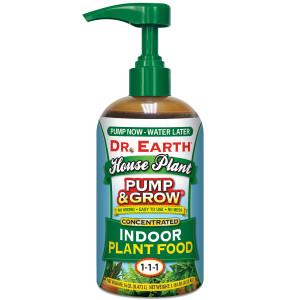 Dr. Earth Pump & Grow House Plant Food Indoor Organic Sidekick Display