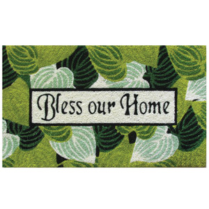 Robert Allen Mat Bless Our Home Bless Our Home 5ea/18Inx30 in
