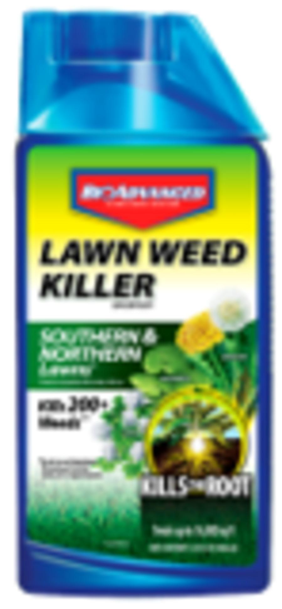 BioAdvanced Lawn Weed Killer South & North Lawn Concentrate 8ea/32 fl oz