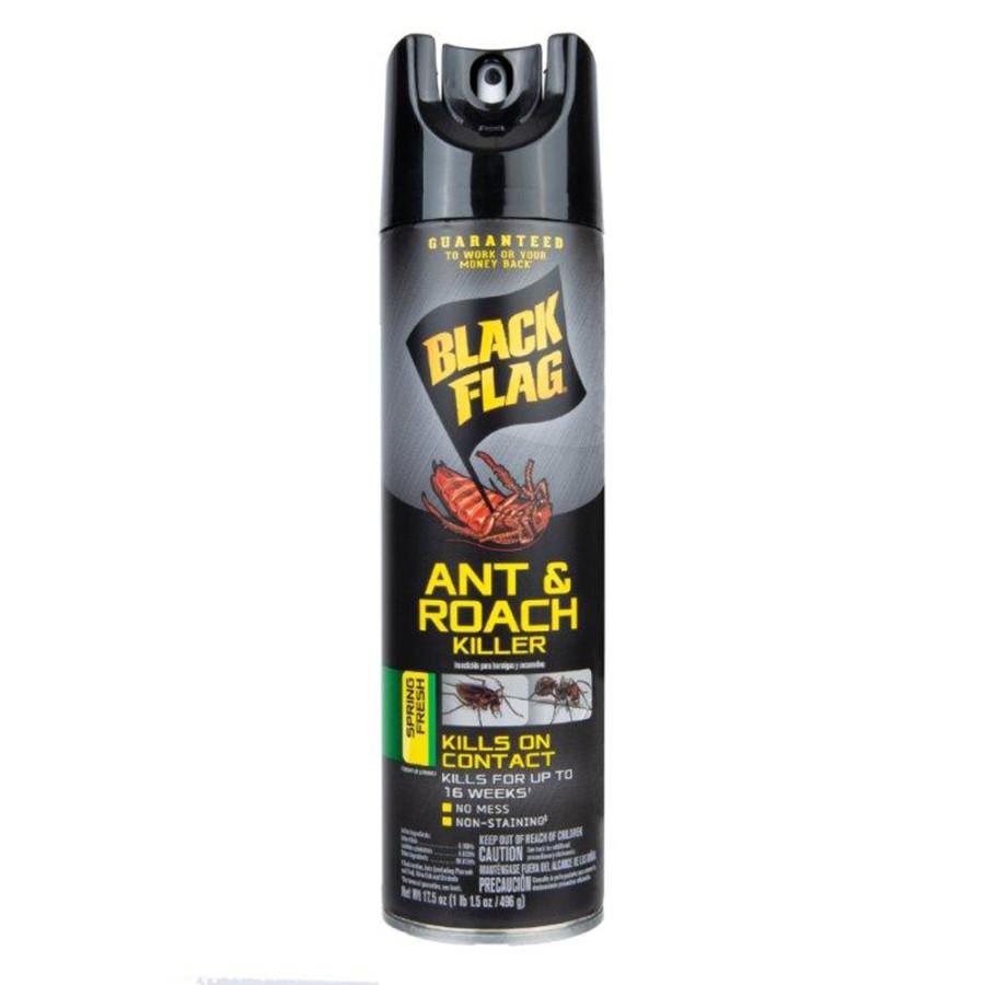 Black Flag Ant & Roach Killer Aerosol Spring Fresh Scent 12ea/17.5 oz